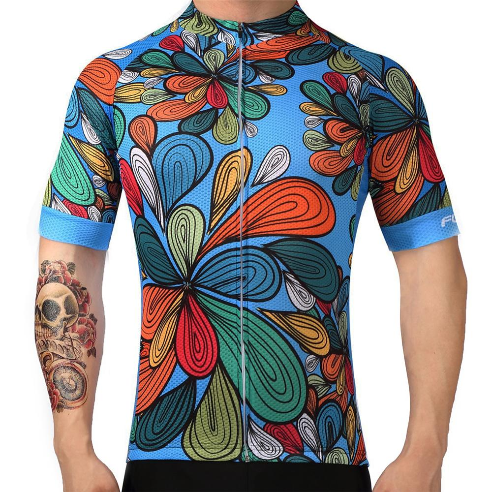 c3ce771dc Men S Cycling Jersey Short Sleeve Bicycle Clothing 2018 Quick Dry Riding  Bike Sportswear Clothes Ropa Ciclismo Mens Clothing Online Vintage T Shirts  From ...