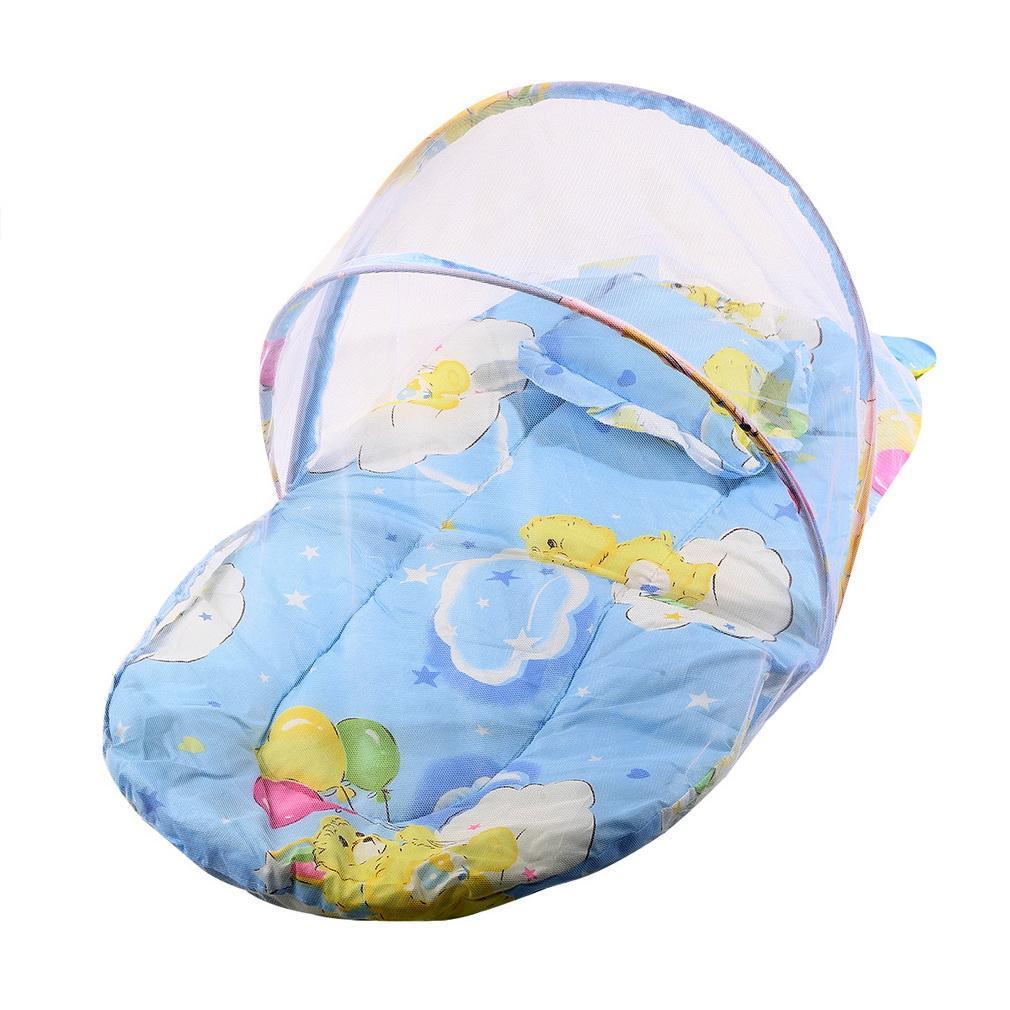 Letto Pieghevole Kong.Baby Bedding Culla Rete Pieghevole Baby Musica Zanzariere Letto Materasso Cuscino Tre Pezzi Suit Per 0 2 Anni I Bambini