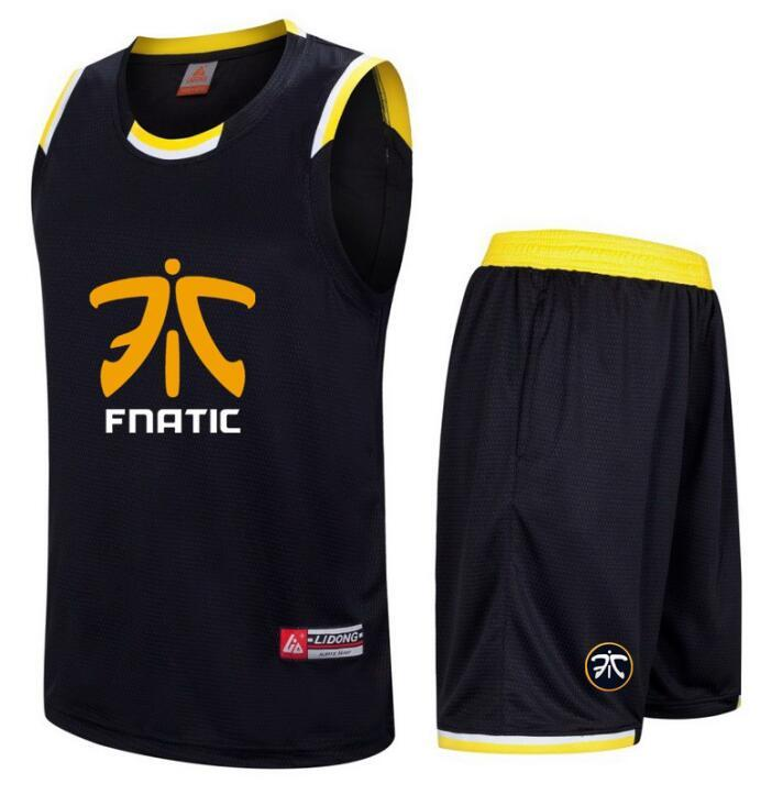 2019 Dota2 CSGO LOL Fnatic Challenger Team Mens Tshirt Men Sporting Suit  Sleeveless T Shirt+Shorts Fitness Set Quick Drying Tracksuit From Wqasysos 8532aaaca