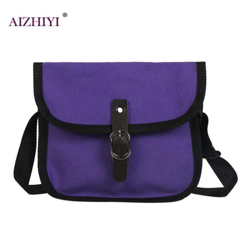 2018 Women S Shoulder Bag Canvas Fashion Casual Style Green Handbags Female Small  Messenger Bag Portable For Girl Crossbody Bags Satchel Bags Cheap Purses ... e30e23a35