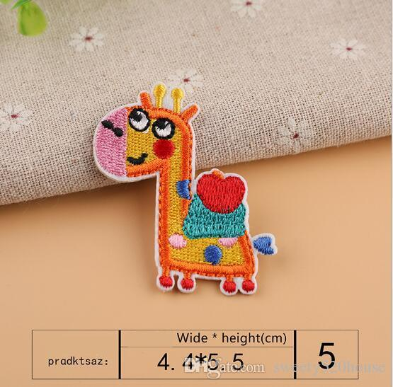 Computer embroidered chapter lovely auspicious picture small cartoon full embroidery patch clothing decoration embroidery cloth sticker