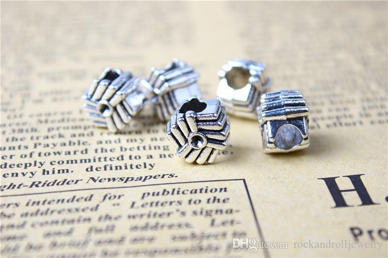 Schnee-Symbol-Legierungs-Charme für Pandora-Armband-Schlangen-Kette oder Halsketten-Art- und Weiseschmucksache-lose Korn-neue Ankunft
