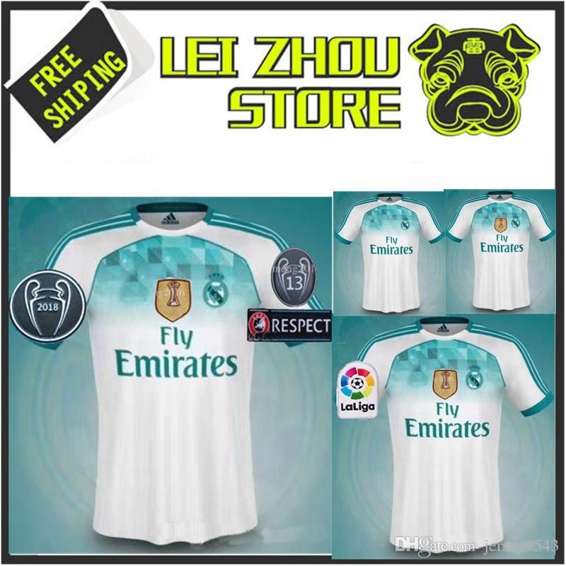 a7dd30c7e2 Nuevo Stock 2019 2020 Real Madrid HOME Soccer Jersey 19 20 BOLAS DE KROOS  Real Madrid ASPAS Asensio Alarcon Benzema Camisetas Fútbol Por Jersey9543