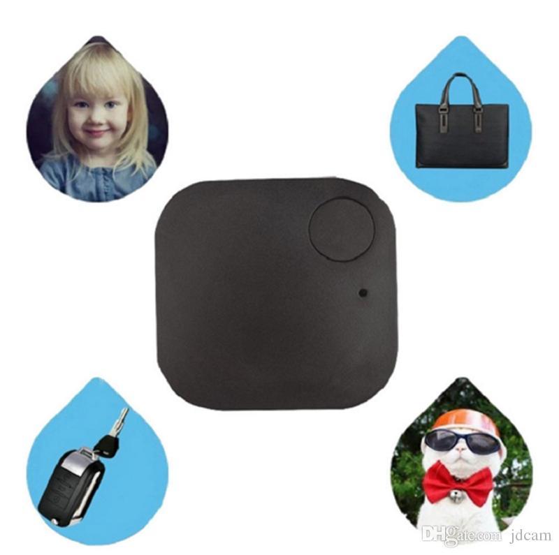 Mutter Mini Smart Finder Bluetooth Tag GPS Tracker Schlüsselmappe Kinder Haustier Hund Katze Kind Tasche Telefon Locator Anti verloren Alarm Sensor Opp Tasche