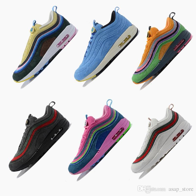 97 Max97 1 Sean Wotherspoon VF SW Hybrid Running Shoes Mens Womens Designer  Trainers Men Women Sneakers Size 5.5 12 Best Running Shoes For Flat Feet  Sports ... ee8312e4c