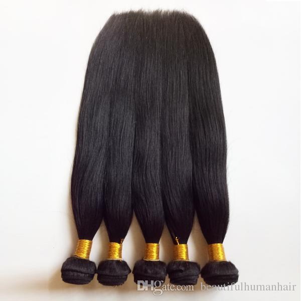 غير المجهزة إهاب الكاملة الحقيقية الراقية لحمة الشعر البرازيلي عذراء 8-26inch حريري مستقيم الشعر ينسج نادر وأفضل جودة ريمي الشعر الهندي