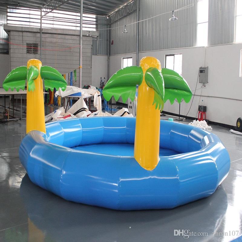 풍선 수영장 대형 수영장 야외 실내 사용 물놀이 온수 장난감 여름 사용 사업 소득 상당한