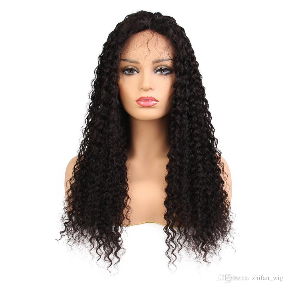 ZhiFan Afro Kinky Curly Human Hair Wigs For Black Women Glueless Natural  Color Lace Front Wig Human Hair Lace Wigs Uk Brazilian Curly Wig From  Zhifan wig 1f76578641