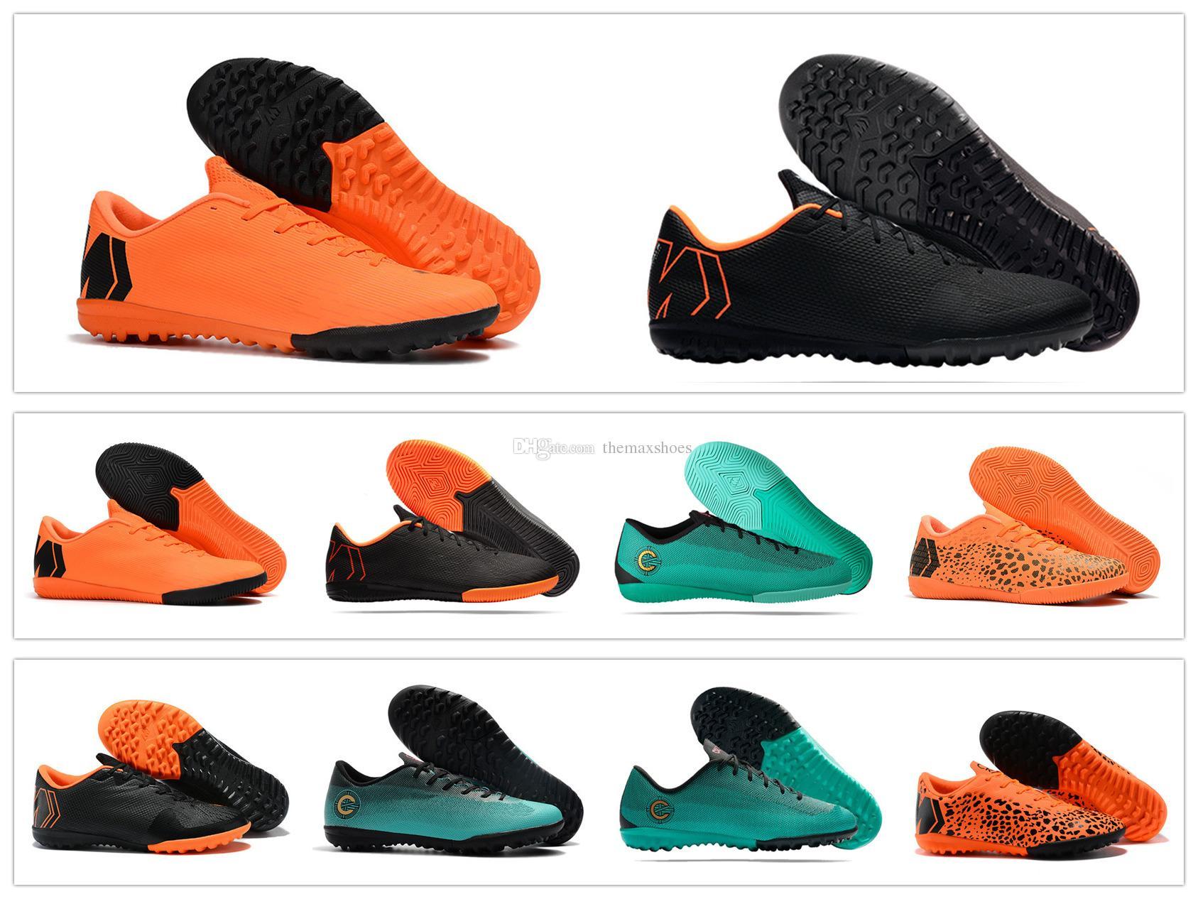 2018 Mercurial VaporX XII 12 Academy CR7 Cristiano Ronaldo TF IC Club  Superfly Soccer Shoes Generation Football Cleats Soccer Boots 39 45 Canada  2018 From ... df8c4b4aa0350