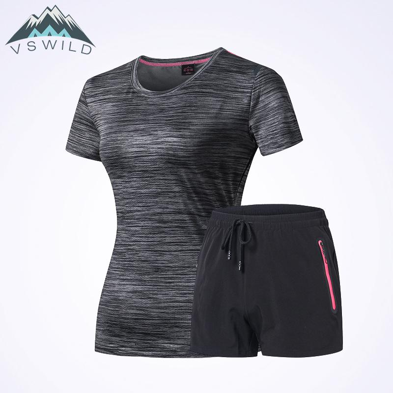 New Sports And Leisure Suit For Lovers Quick Dry Clothes And Trousers Suit Outdoor Running Fitness Wear Men Women Clothing