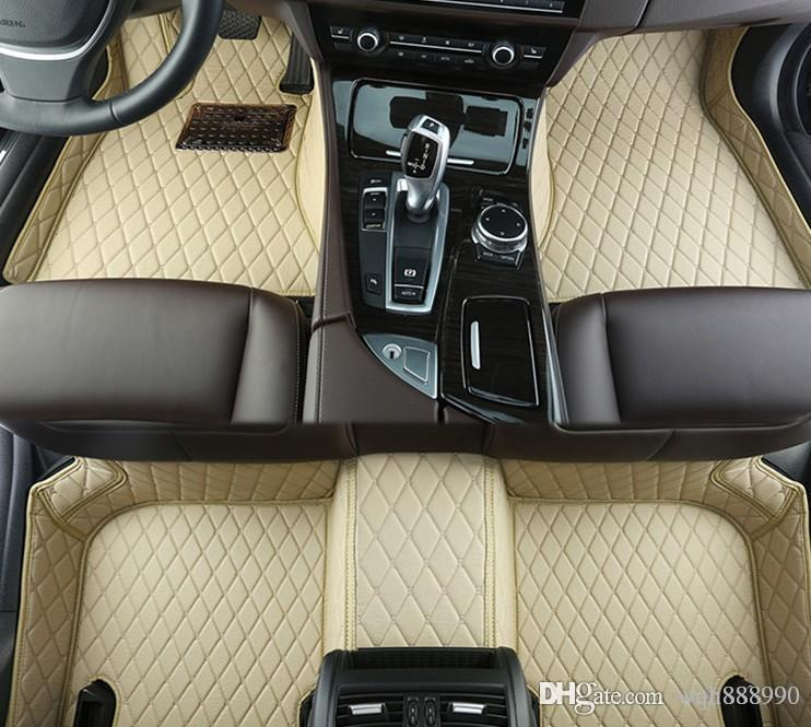 2018 High Quality Car Floor Mats For Ford Fiesta Ecosport Focus