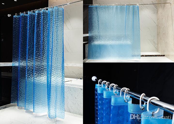 Tende Da Doccia Design : Acquista tenda da doccia eva traslucido d addensato m