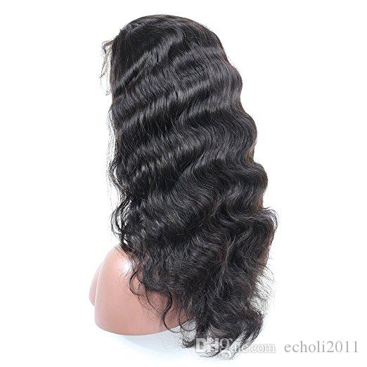 Pre Plucked 360 Lace Frontal Wigs-Body Wave Full Frontal Lace Human Hair Wigs for Black Women Natural Hairline with Baby Hair 150%density