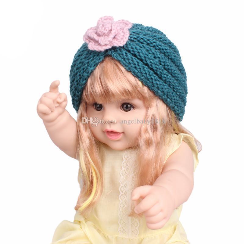 Compre Musulmana Sombrero De Invierno Cálido Flor De Lana Cruz De Punto  Gorro Beanie Sleep Chemo Turbante Sombreros Para Niña Niño Accesorios Para  El ... cbc01d1a5451