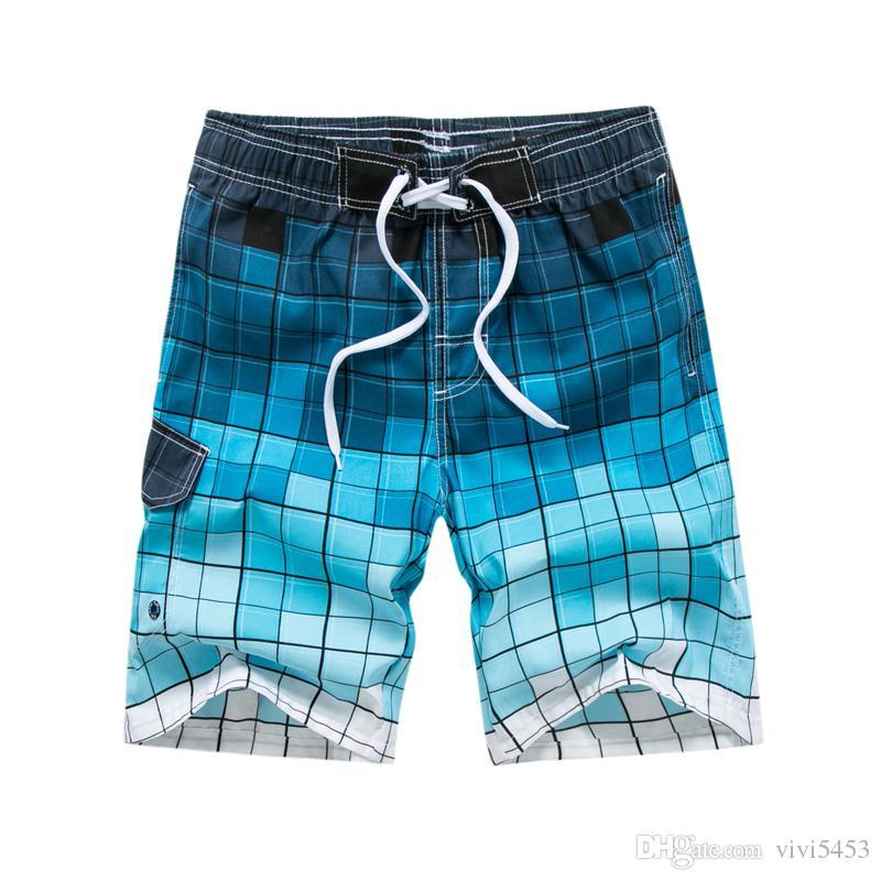 b958035710 Hot Summer Polos Men Short Pants Beach Vacation Surf Pants Casual ...
