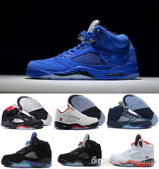 f51df1a127ff Basketball Shoes 5s 5V Olympic Metallic Wings Gold White Cement Men ...
