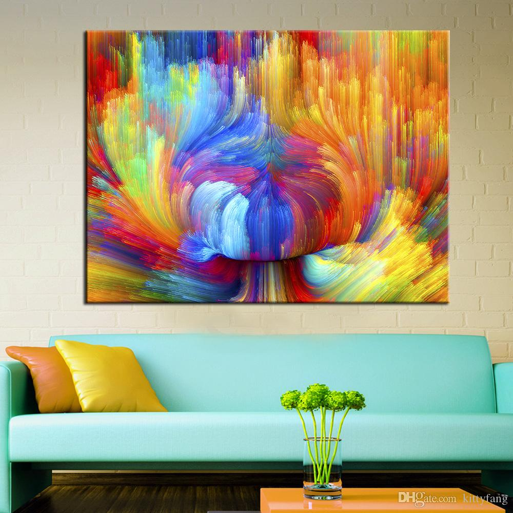 Großhandel 1 Panel Wand Kunstdrucke Wandbilder Für Wohnzimmer