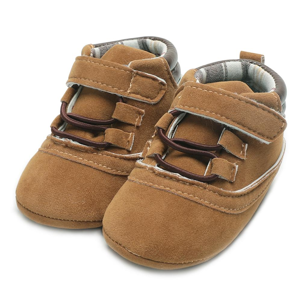 e0e050a7417 2019 Soft Sole Baby Shoes Boy Soft Sole Infant Shoes For Toddlers Lace Up  Classic Baby Moccasins Suede Leather Autumn Kids Footwear From Phononame