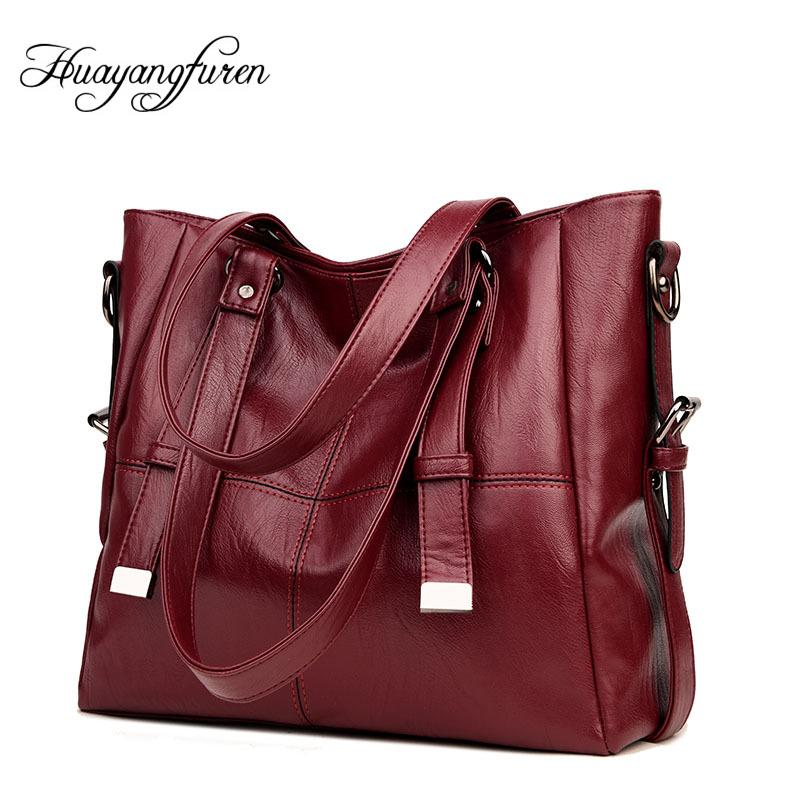 950ca23764 High Quality PU Leather Women Bags Brand Large Capacity Women ...