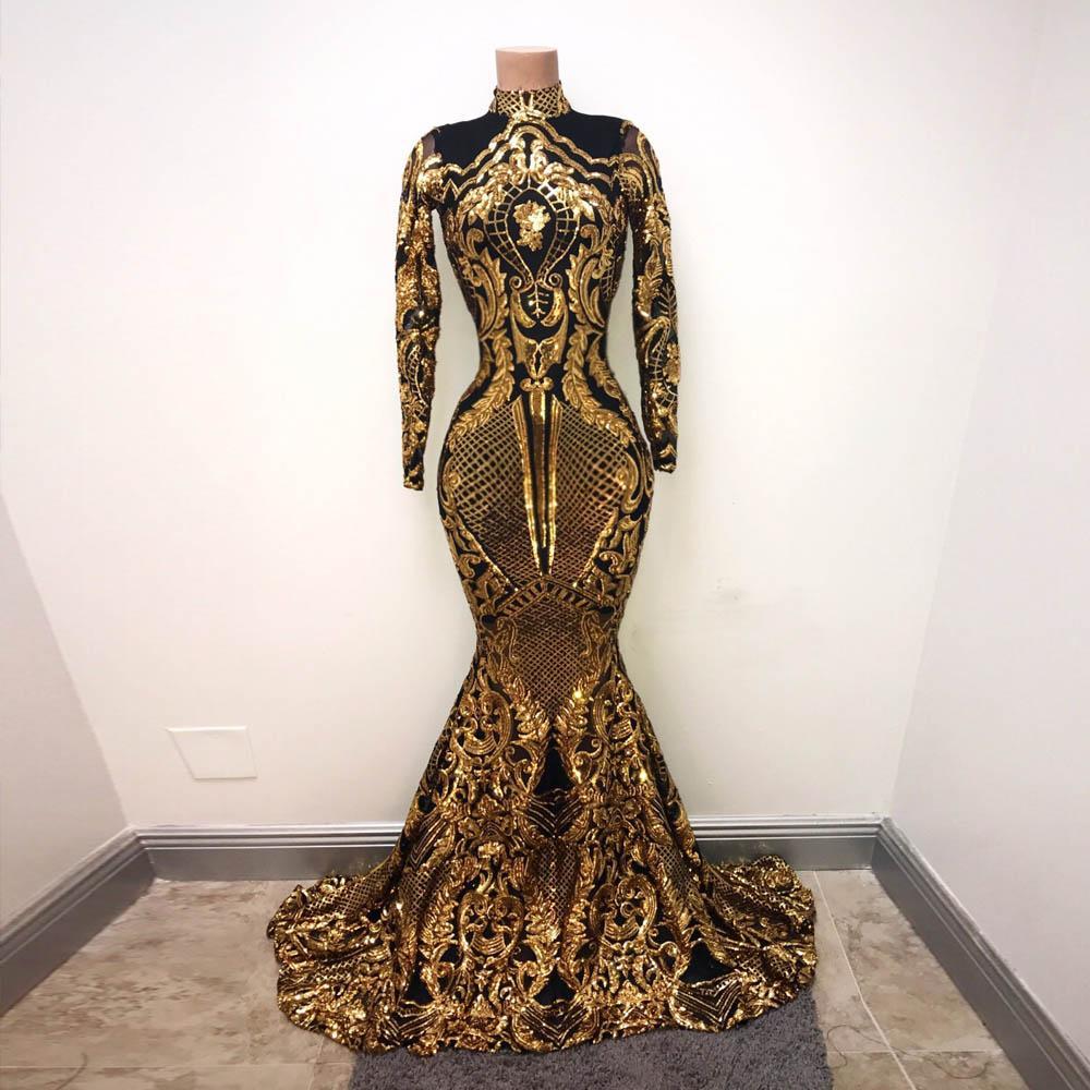 GiayMus Luxurious Major Beading Mermaid Evening Dresses 2018 Sexy Sequins  High Neck Prom Dresses Vestidos De Festa Graduate Arabian Dubai One  Shoulder ... 65e032d10ff4