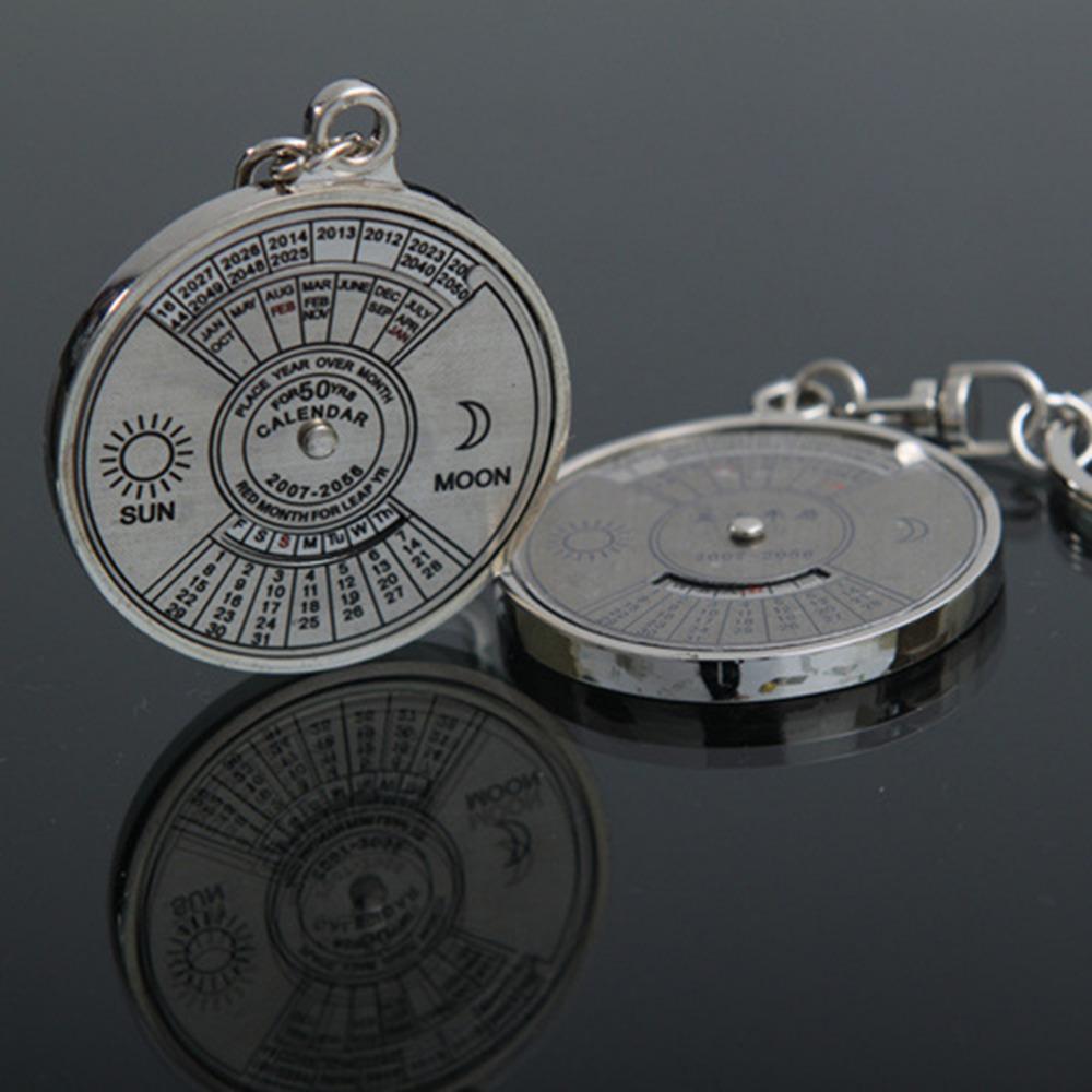 881b73e4ddb Compre JETTING 50 Ano Calendário Chaveiro Mini Anel De Metal Bússola Keyfob  Caminhadas Camping Ferramentas De Sobrevivência De Esportes Ao Ar Livre De  ...