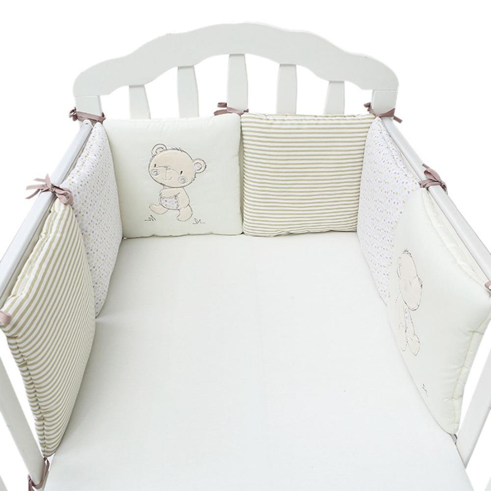 Grosshandel Heisser Verkauf 6 Teile Los Baby Bett Stossstange In Der