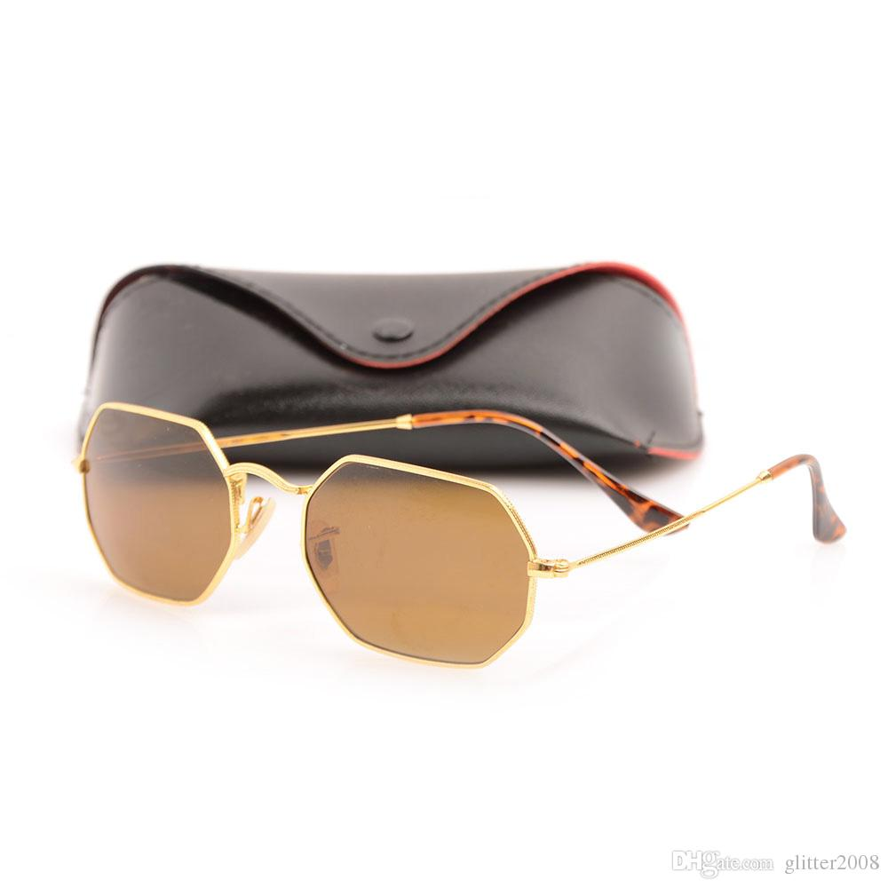5ff95de472 Free Ship New 3556 Fashion Sunglasses Man And Woman Eyewear Designer Brand  Sun Glasses Octagonal Sun Glasses UV400 Lenses With Original Case Vuarnet  ...