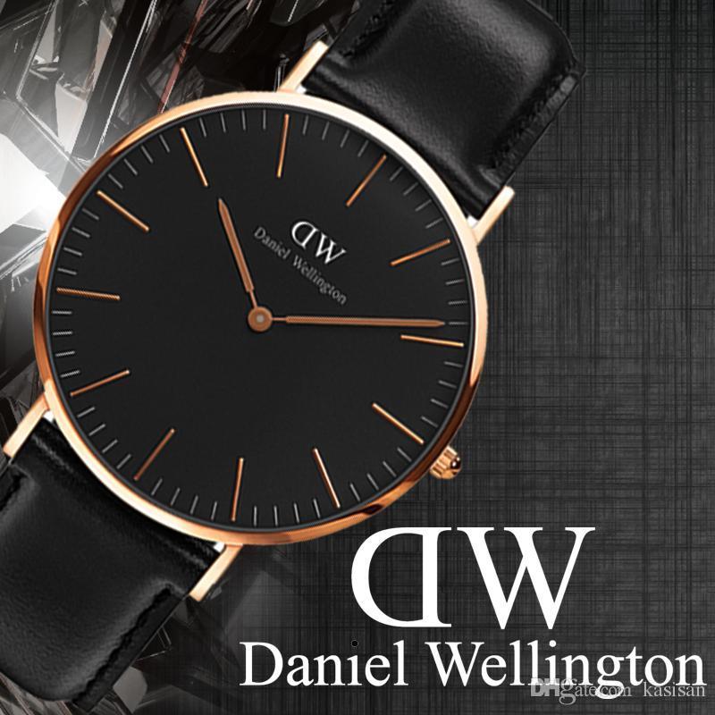 7976ff189405 2018 New Mens Daniel Watches 40mm Men Watches 36 Women Watches ...