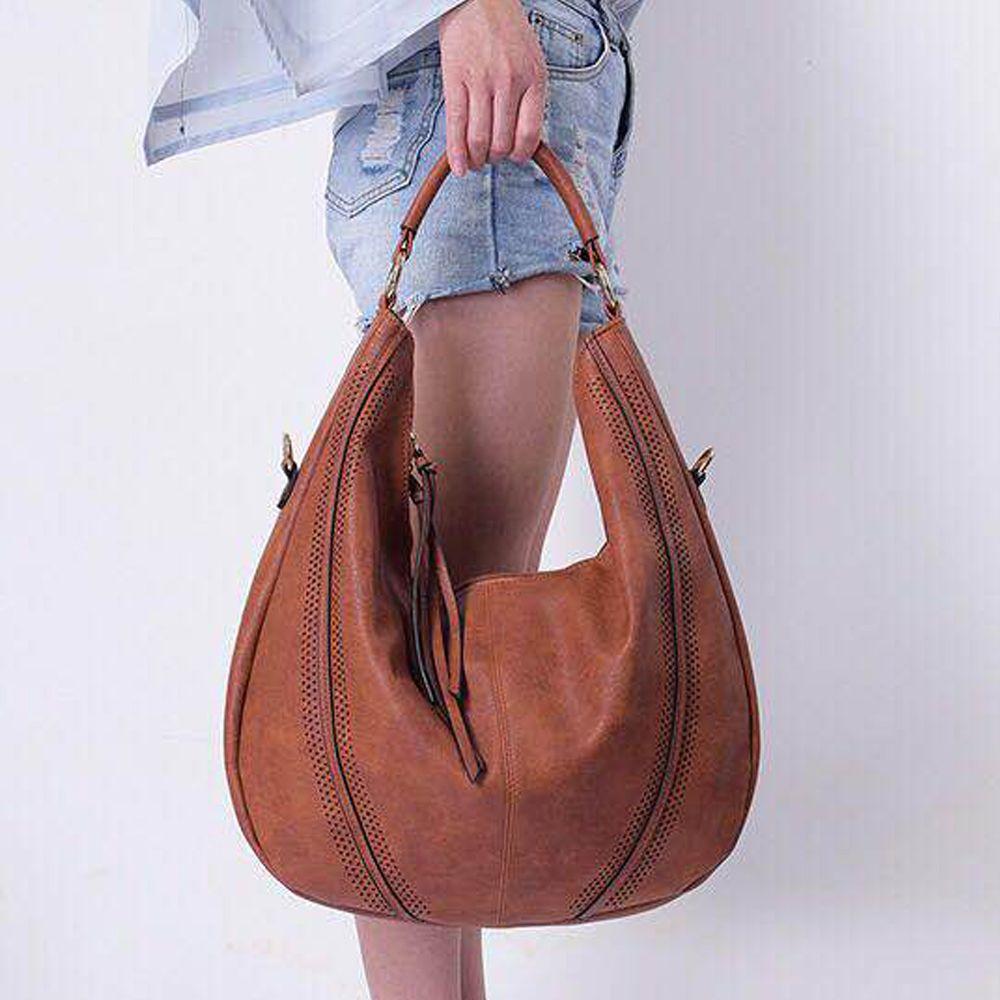 7310848eba7 Handbags For Women Large Designer Ladies Hobo Bag PU Leather Top Handle  Shoulder Totes Purse Ladies Handbags Leather Handbags From Goodbuyhouse, ...