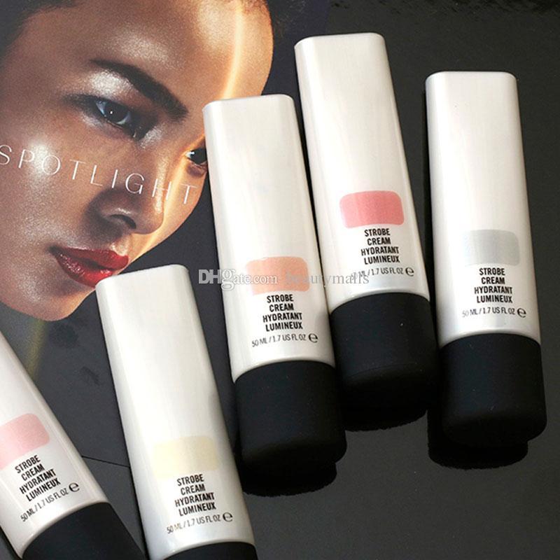 스트로브 크림 Hydatant Lumineux 메이크업 파운데이션 Primer Concealer 50ml Creams 5 색 소매 박스 DHL