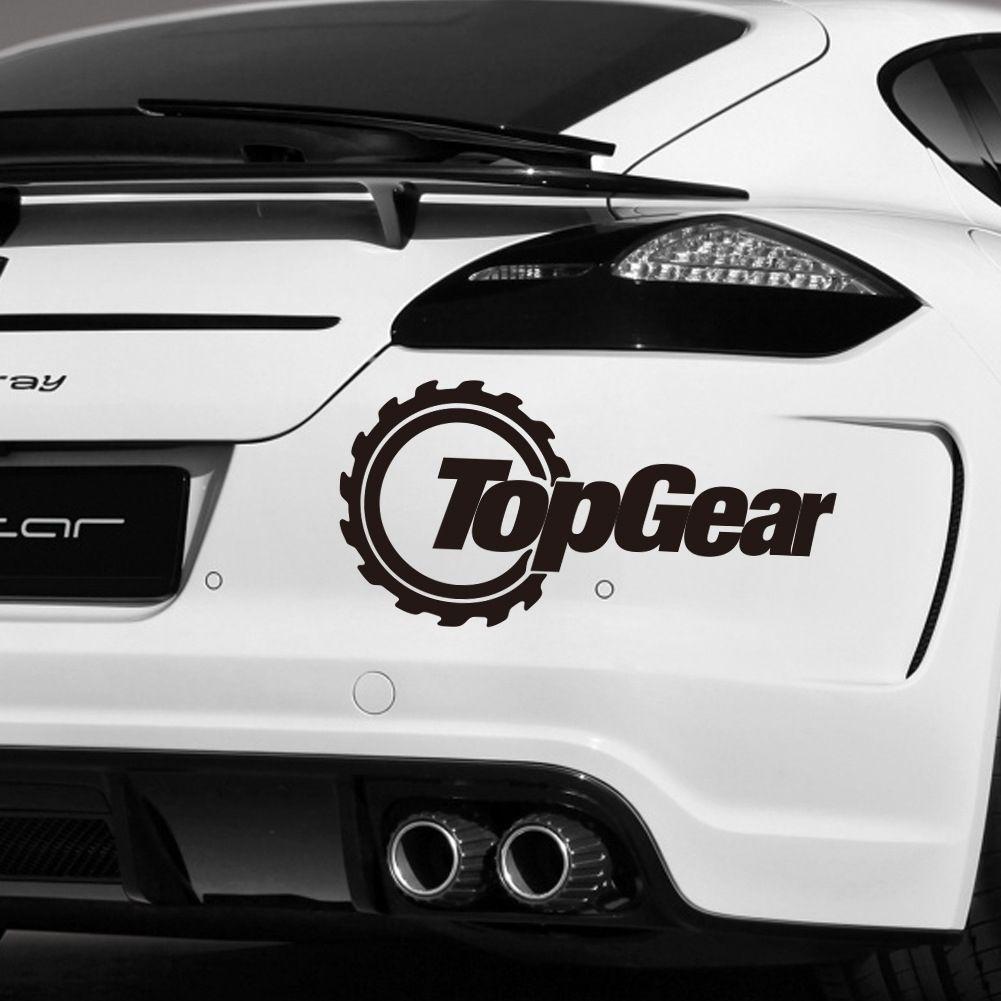 Car word sticker totem top gear waterproof jpg