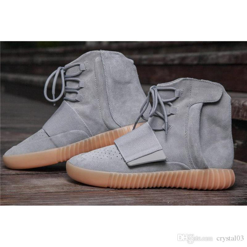 37bf1355c58 Athletic Shoes Wholesaler Crystal03 Sells Kanye West 750 Boost Glow In The  Dark Running Shoes Size 40 46 Men Boots Basketball Shoes Women Sport Running  ...