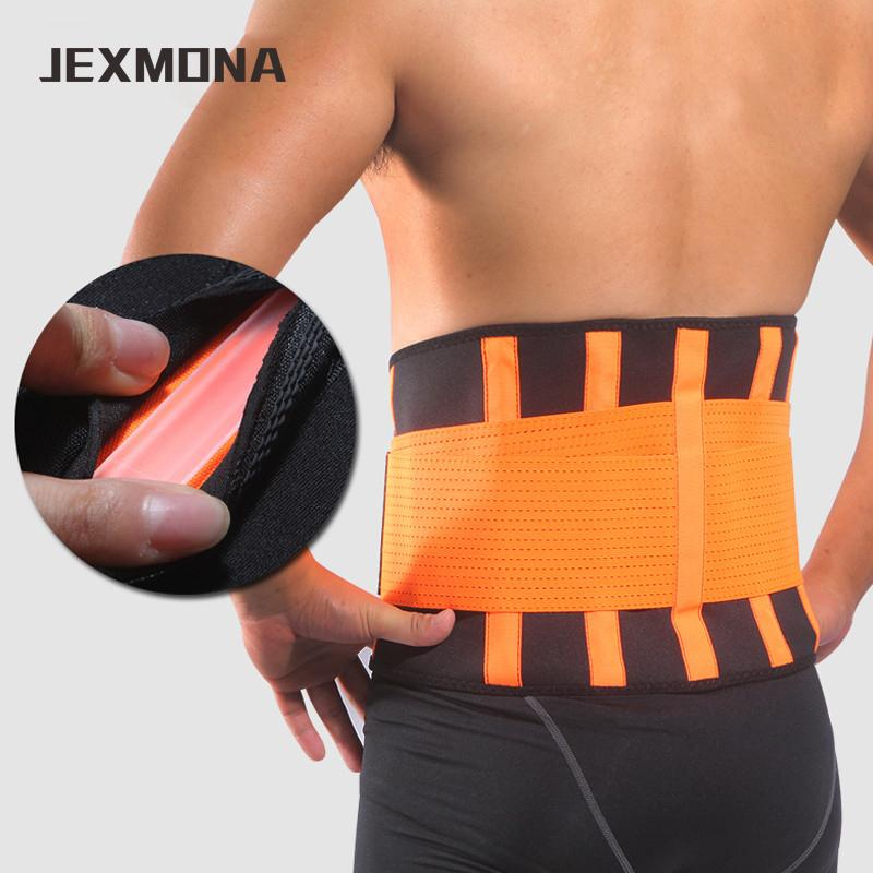 3a5cdf48b40 Adjustable Sports Waist Belt Neoprene Waist Support Fitness Slimming  Training Protector Brace Back Pain Relief Sweet Sweat Y1892612 Online with   20.05 Piece ...