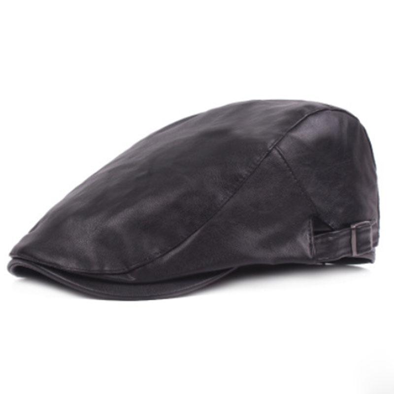 bb4d22ae66a MAERSHEI New Leather Beret Caps Leather Forward Hat Women Warm Cap Berets  Cheap Berets MAERSHEI New Leather Beret Caps Leather Online with   22.96 Piece on ...