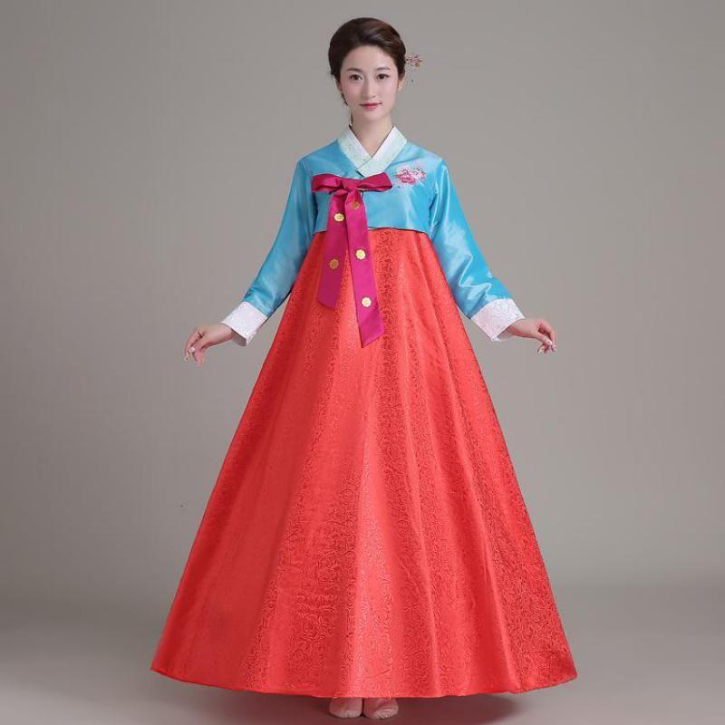 b0814653c7 Traditional Hanbok Dress Korean Royal Wedding Ball Gown Women ...