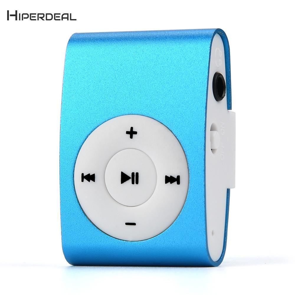 2546dda4f Compre Reproductor De MP3 Regalo Mini Clip Con Auricular Música Multimedia  Reproductor De Mp3 Portátil USB Deporte Música Escuchar Teléfono QIY06 D23  A ...