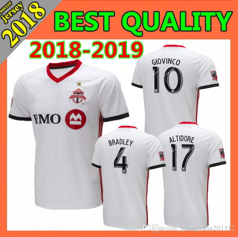 Wholesale MLS Toronto FC Soccer Jersey 2018 2019 BRADLEY MORGAN GIOVINCO  OSORIO ALTIDORE Customized Top Thailand Home Away Football Shirt Online  with ... 1caa36ec0