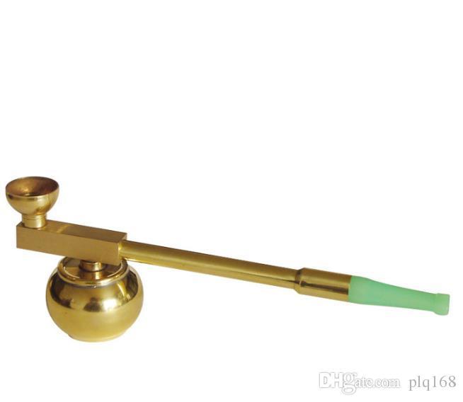 Messing Hookah Pipe Filter trockener Topf alten Hanyan Rod Dual-Zweck Zigarettenspitze