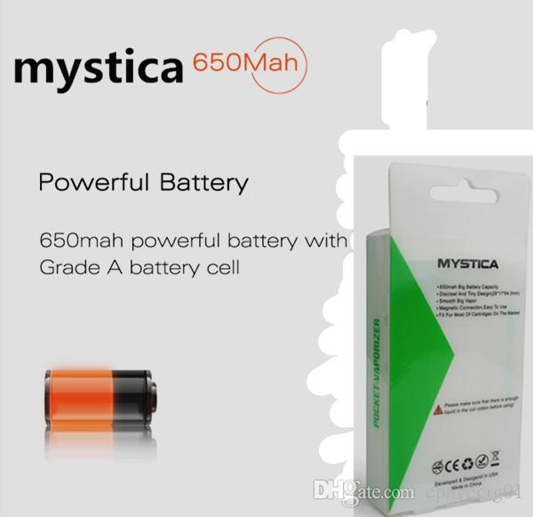 mystica 650mah big battery capacity pocket vaporizer cheapest price airis vape pen starter kit 2017 best selling quality china product