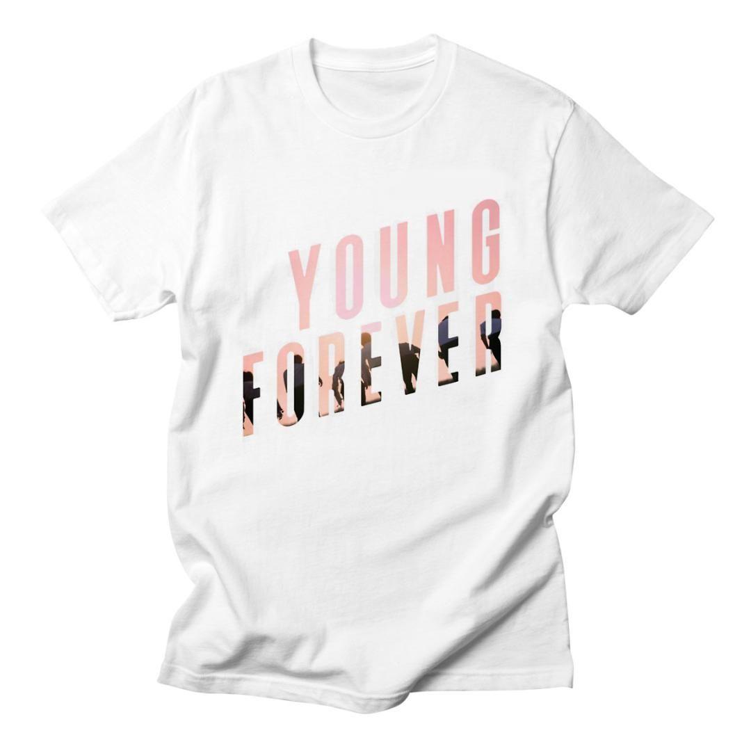 0ace1bda05f5 Voltreffer BTS Kpop Bangtan Boys Camisetas de manga corta Coreana Camiseta  divertida para dama Top Tee Hipster Tumblr BTS Camisas de mujer