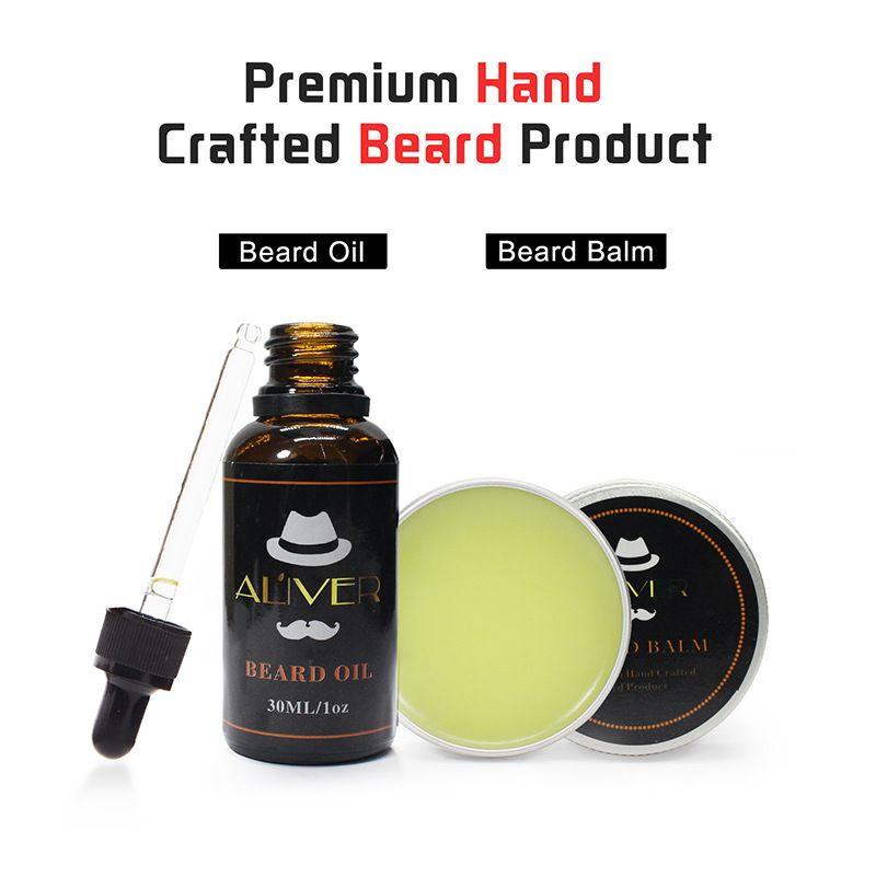 Natural Organic Beard Oil Beard Wax Balm Hair Products Leave In