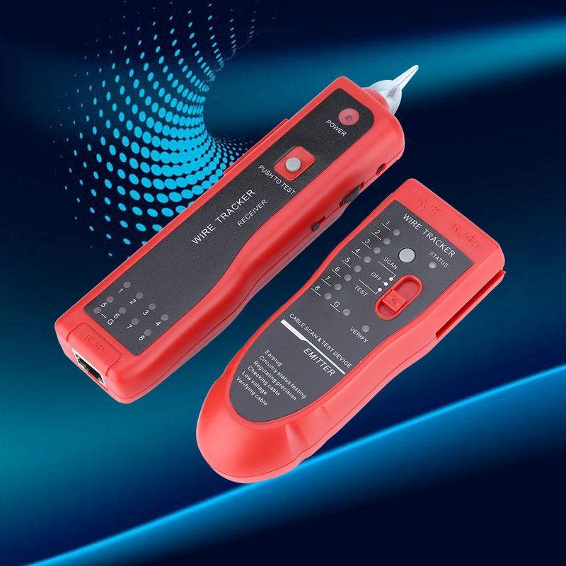 Wondrous Rj11 Rj45 Cat5 Cat6 Telephone Wire Tracker Tracer Toner Ethernet Lan Wiring Digital Resources Sapredefiancerspsorg