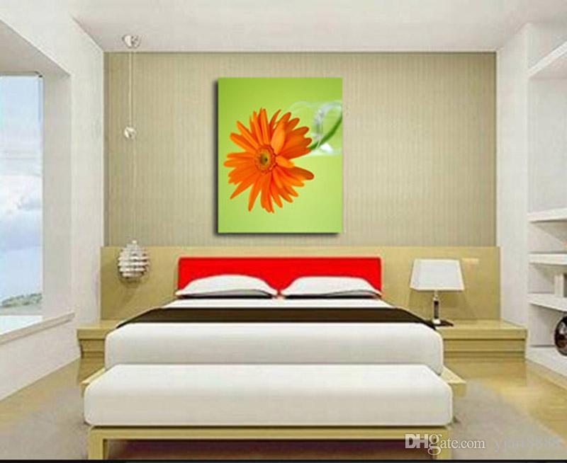 Acheter flower i unframed art mural en toile moderne pour la
