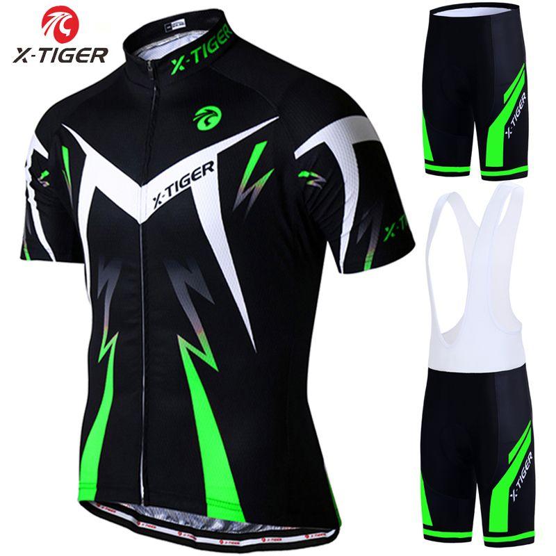 X-Tiger 2018 Pro Summer Cycling Jersey Set Mountain Bike Clothing ... 04e399249