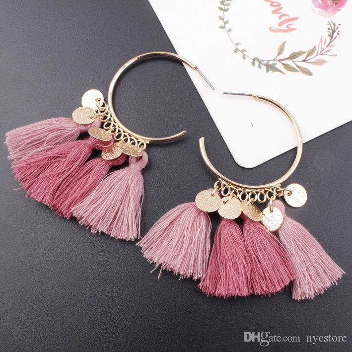 Jewellery & Watches Costume Jewellery Lower Price with Tassel Earrings And Necklace Goods Of Every Description Are Available
