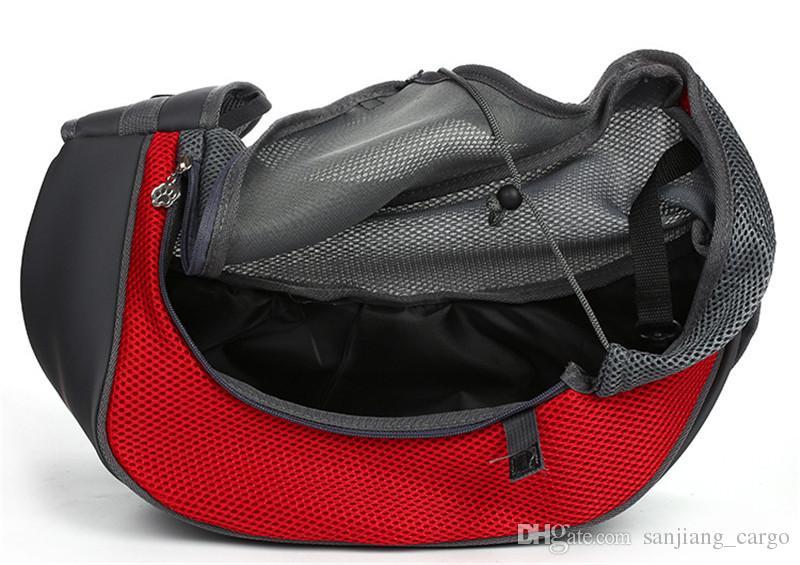 Haustier Hündchen Katzenträger Tragbare Taschen Rucksack Outdoor Reise Faltbare Tasche Brust Umhängetaschen für kleine Haustiere