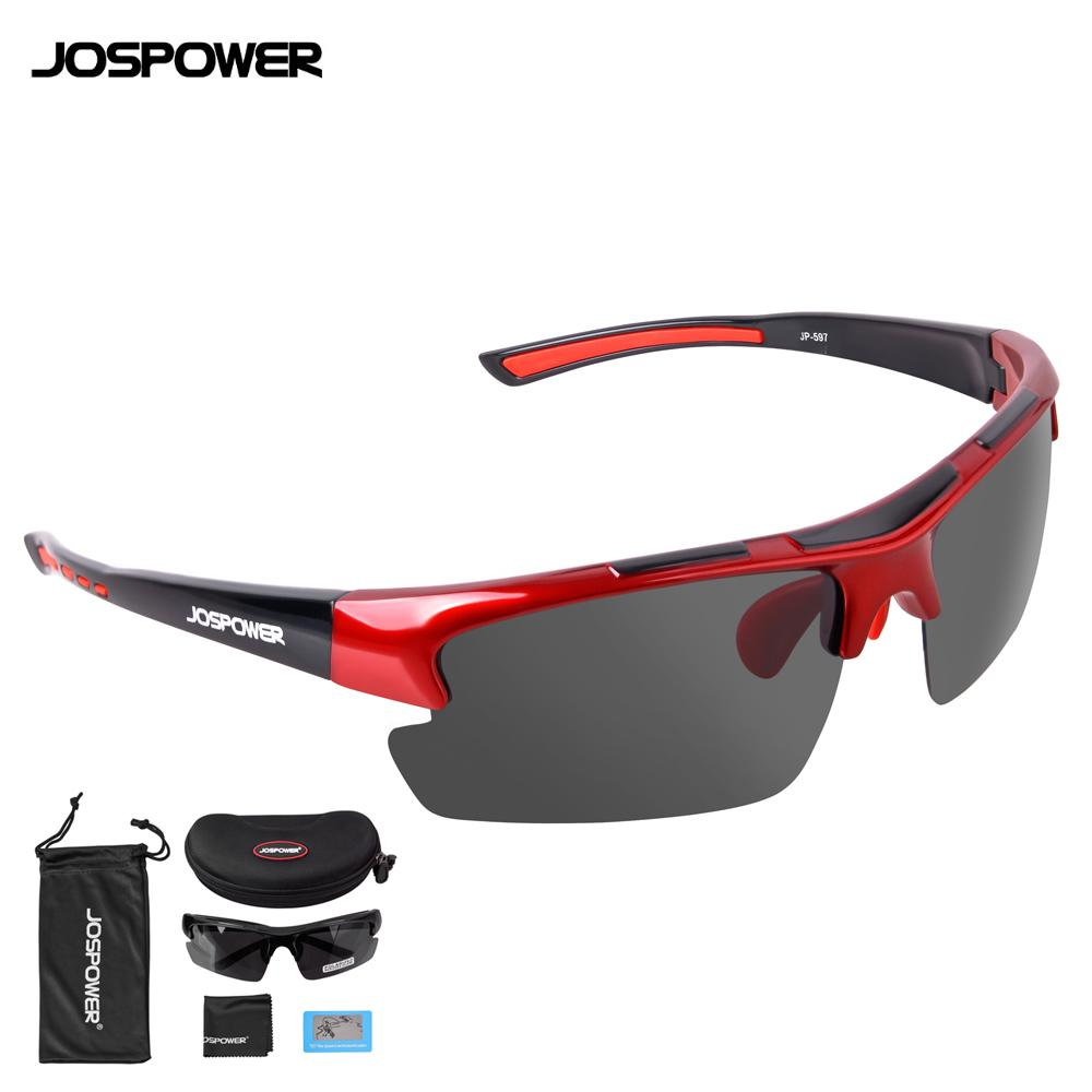 a3e9f8426c81 2019 JOSPOWER Polarized Road MTB Cycling Glasses Bike Ultralight Glasses  Outdoor Sport Driving Sunglasses UV400 Fishing Eyewear From Miaoshakuai