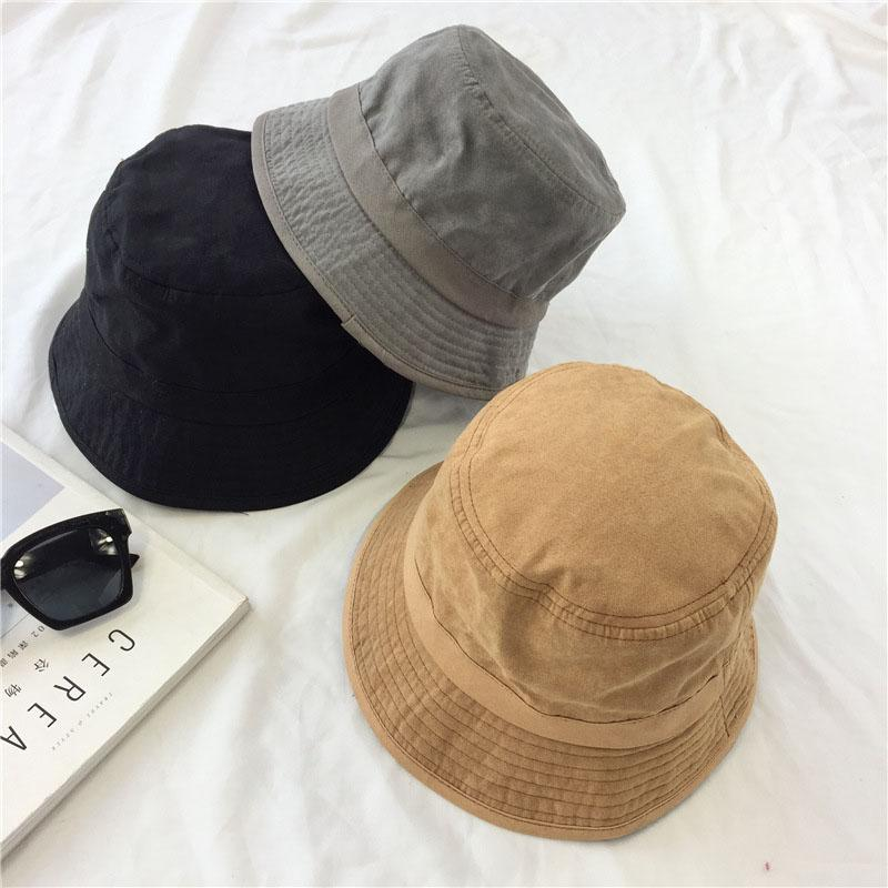 9a02d2bfb5d Solid Suede Bucket Hat Outdoor Climbing Hats for Women Flat Men Fishing Cap  Brand Fisherman Hat Shopping Service Climbing Hats Fisherman Hat S Outdoor  Caps ...