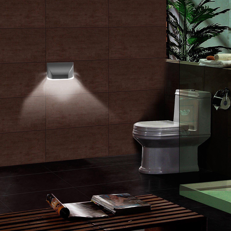 Door Motion Sensor Light Keyhole Light Lamp Battery Operated PIR Infrared Auto Sensor Motion Detector for Bedroom Stairway Closet