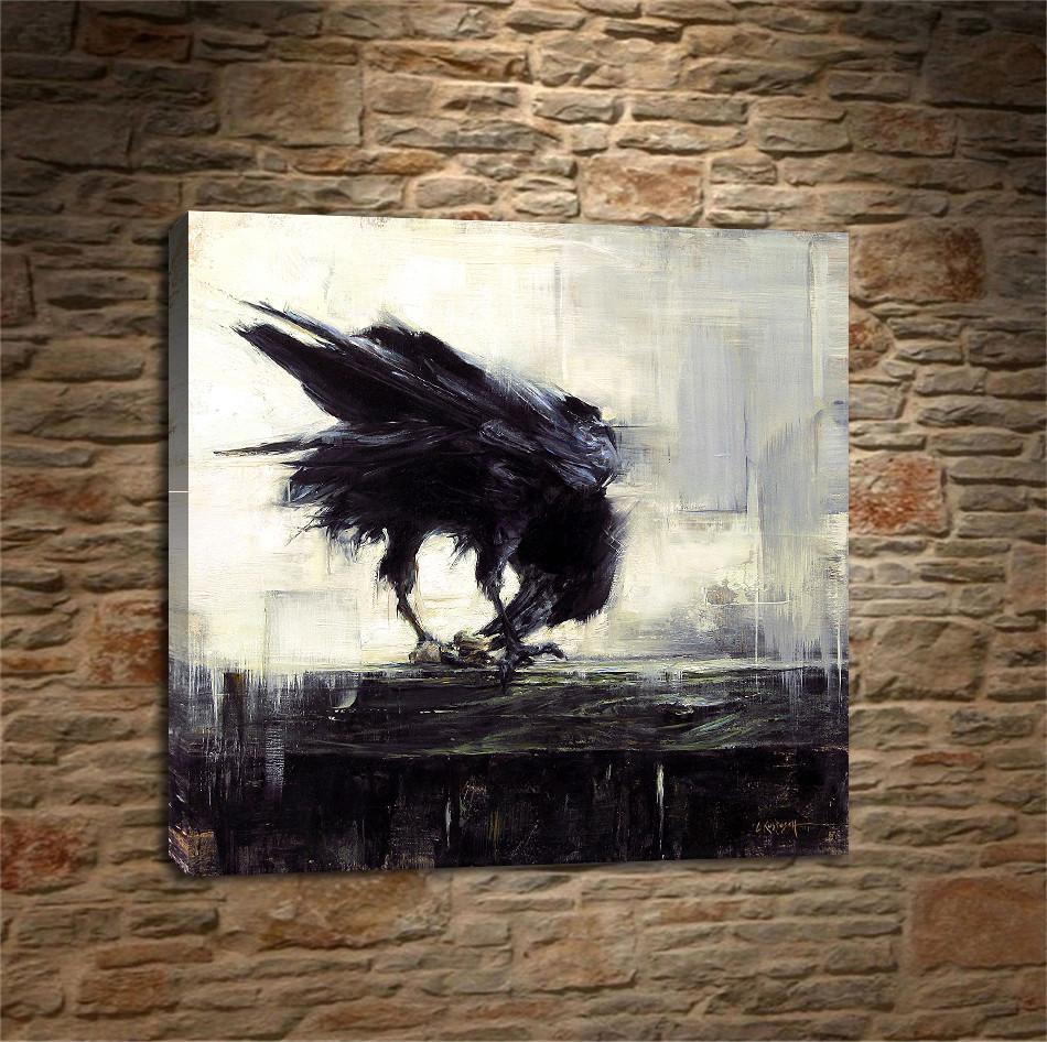 Satın Al Lindsey Kustusch Karga Kuş 1 Parça Ev Dekorasyonu Hd